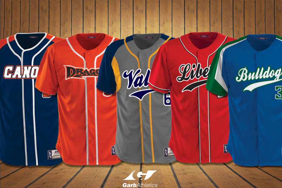 Youth Baseball Uniforms  - just a few out of the hundreds of styles available