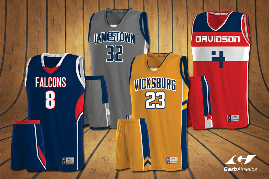 Youth Girls Basketball Uniforms  - just a few out of the hundreds of styles available