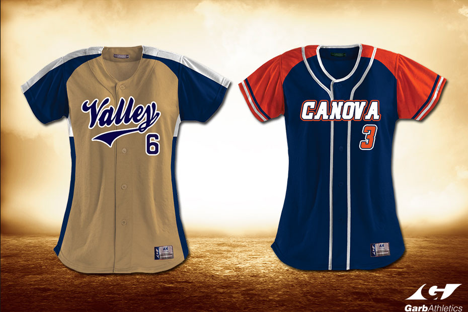 Youth Softball Uniforms  - just a few out of the hundreds of styles available